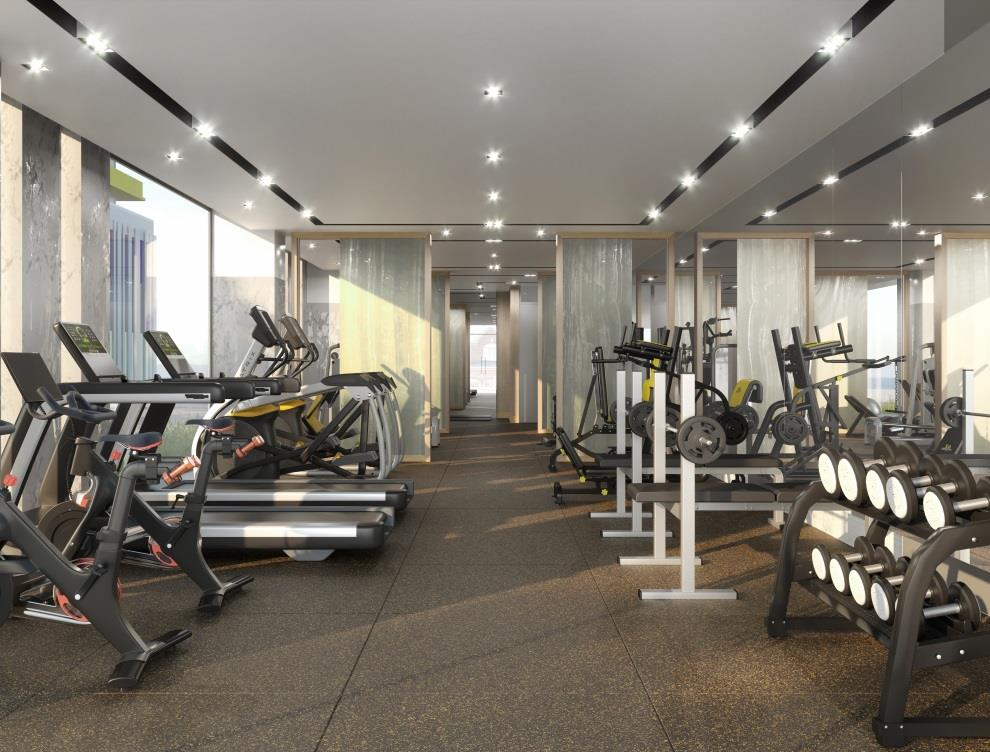 MontVert Condos Fitness Centre