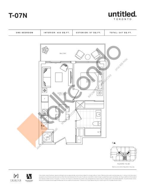 Untitled North Tower Condos Condos Floor Plans