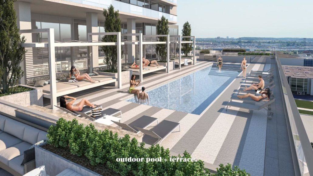Charisma - Phase II Pool Terrace