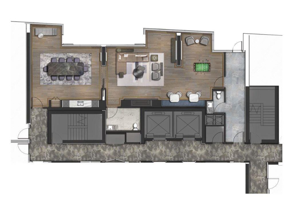 Lakeside Residences Amenity Plan