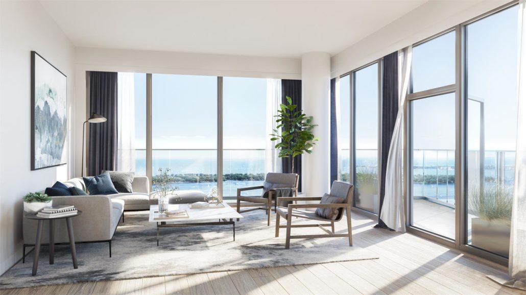 Lakeside Residences Living Room