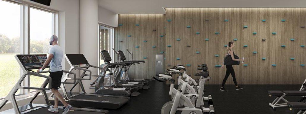 Minto Oakvillage Condos Gym