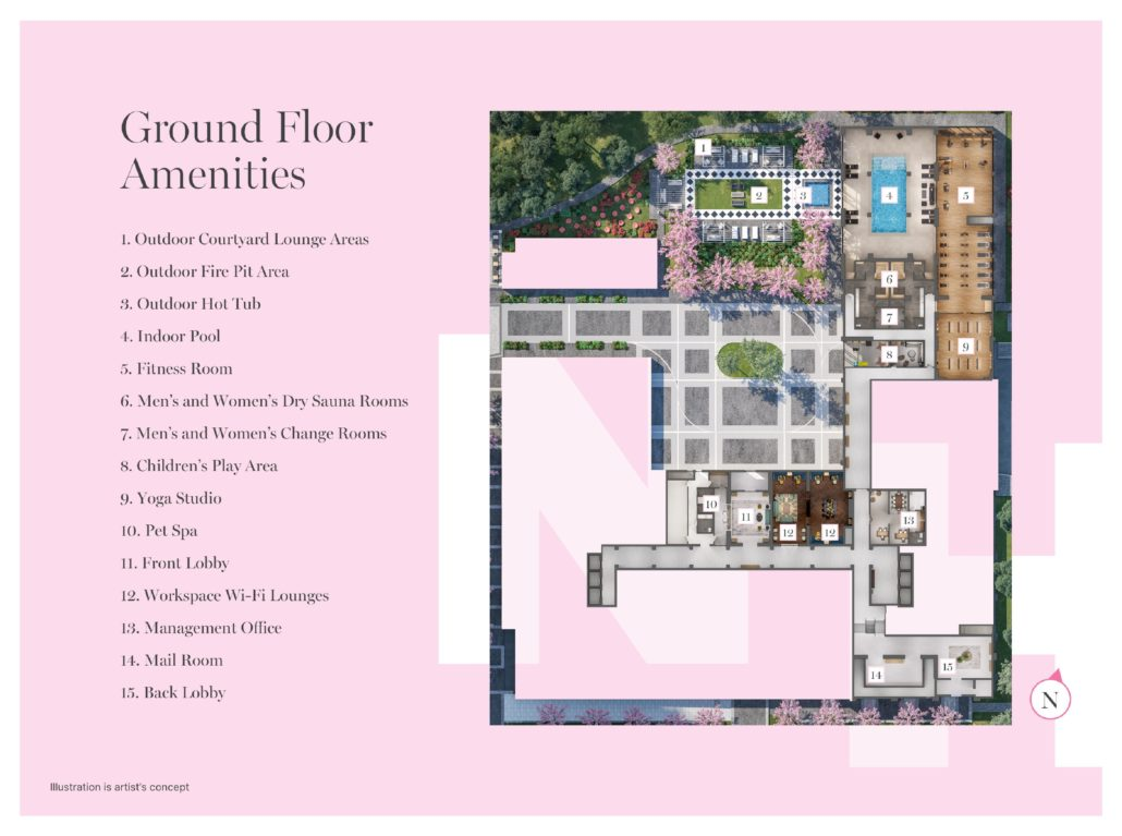 Notting Hill Phase 3 Ground Floor Amenities