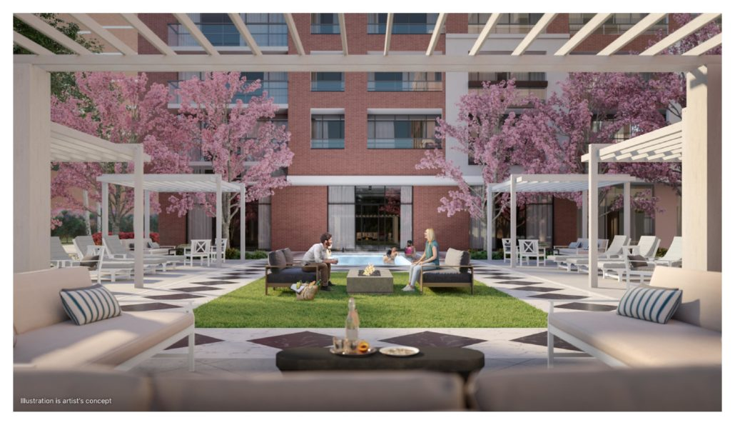 Notting Hill Phase 3 Interior Rendering