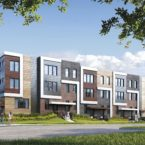 Parkside Towns at Saturday Rendering