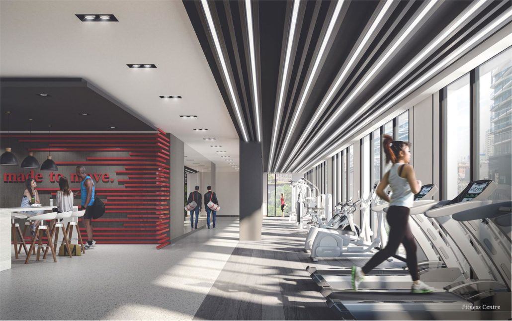 Peter & Adelaide Condos Fitness Room