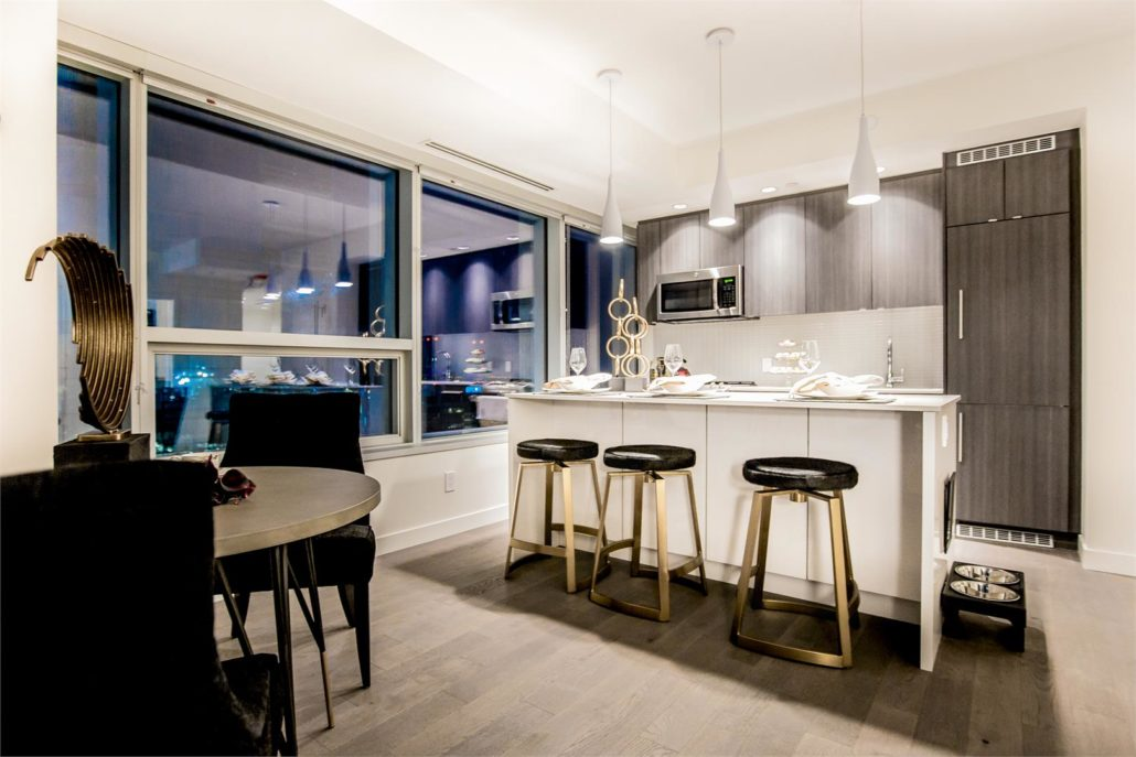 SKY Residences at ICE District Kitchen
