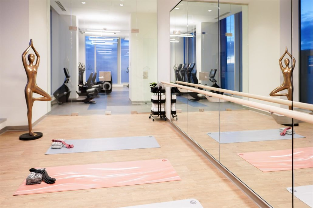 SKY Residences at ICE District Yoga Studio