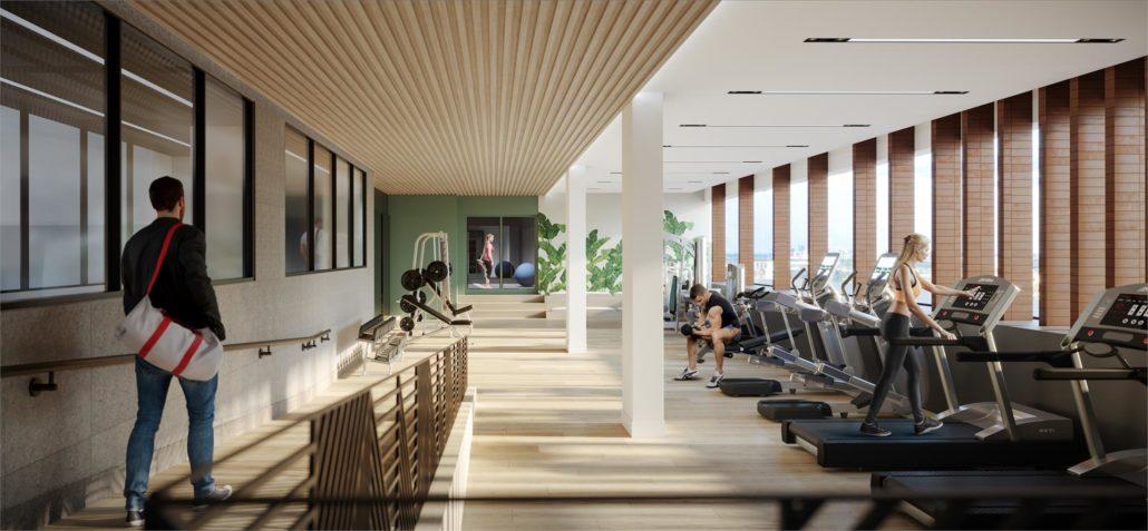 The Thornhill Condos Fitness Centre