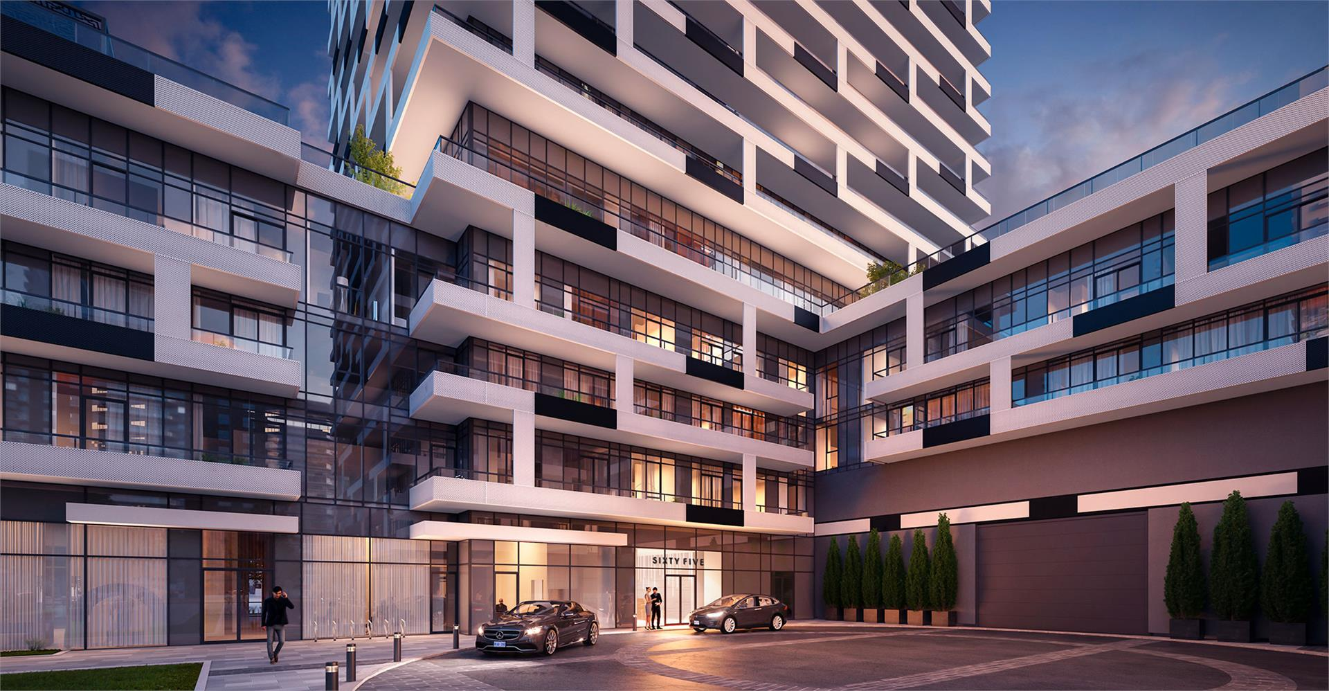 Sixty Five Broadway Condos Rendering