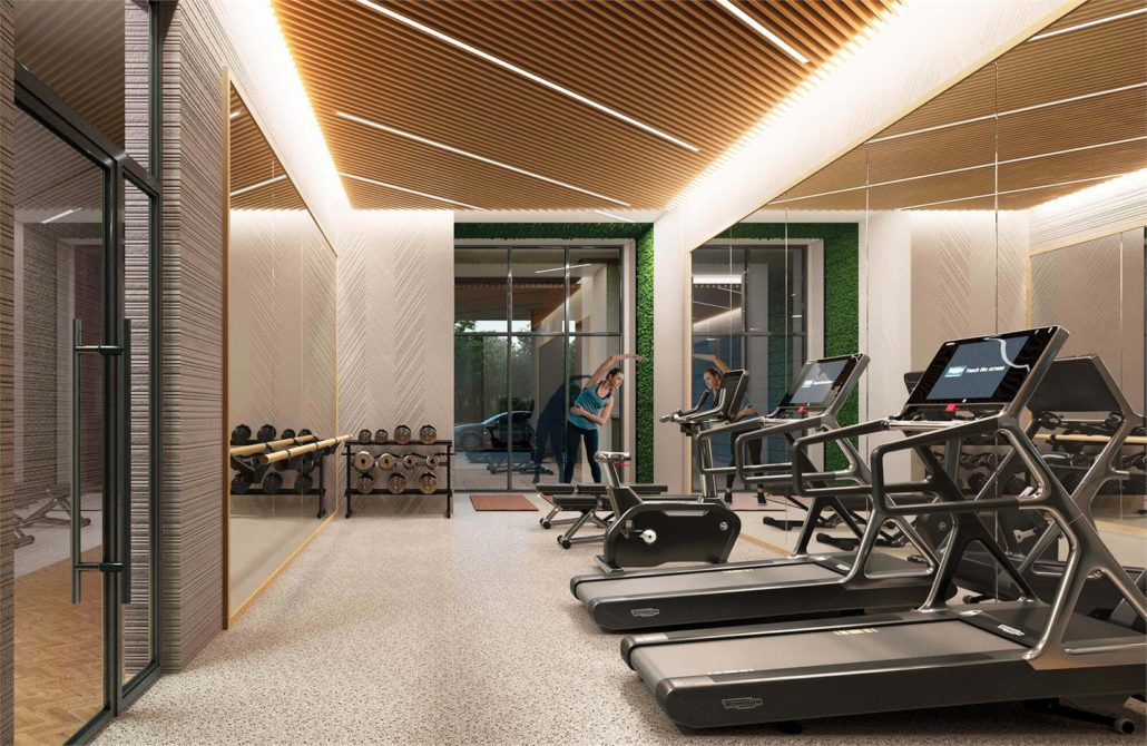 The Poet Condos Fitness Centre