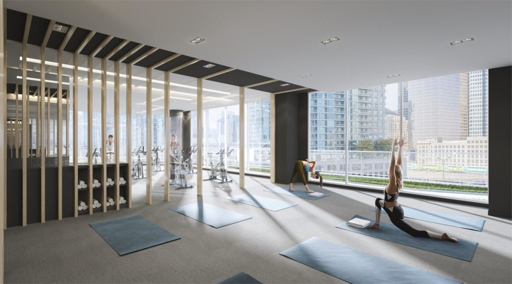 SkyTower at Pinnacle One Yonge Gym
