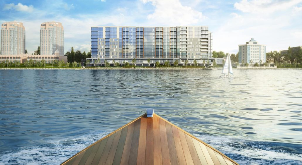 Lakhouse: Lakefront Residences Rendering