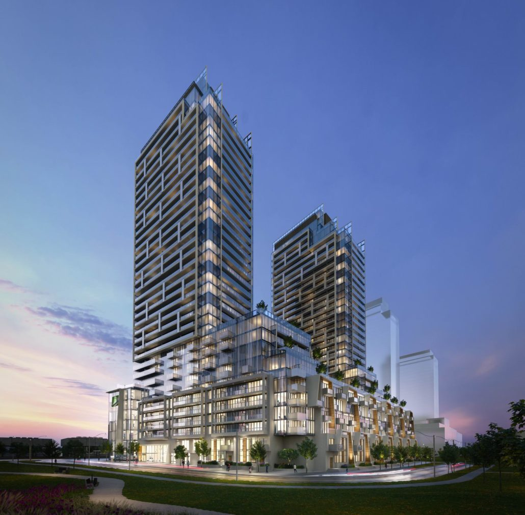 M2M Spaces Condos Hero Night