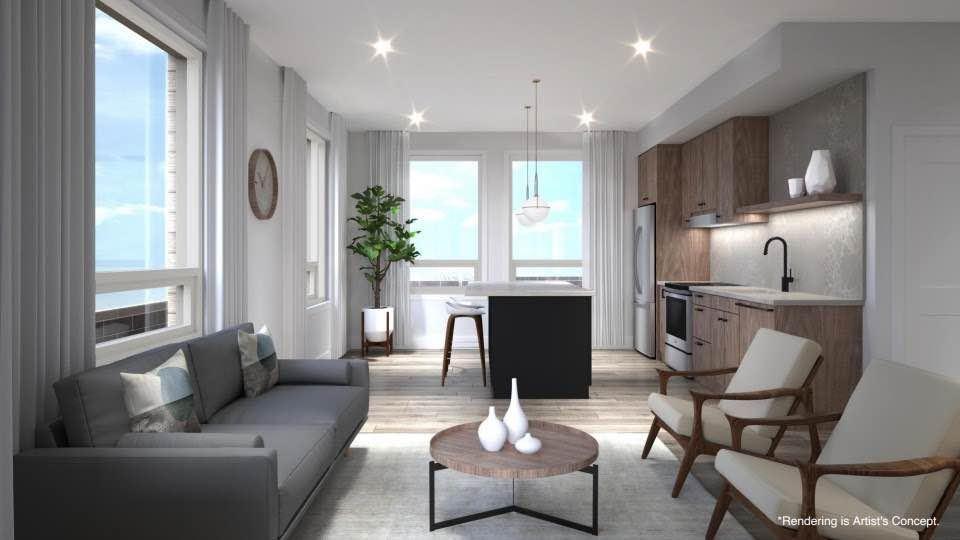 Reign Condo Living Room