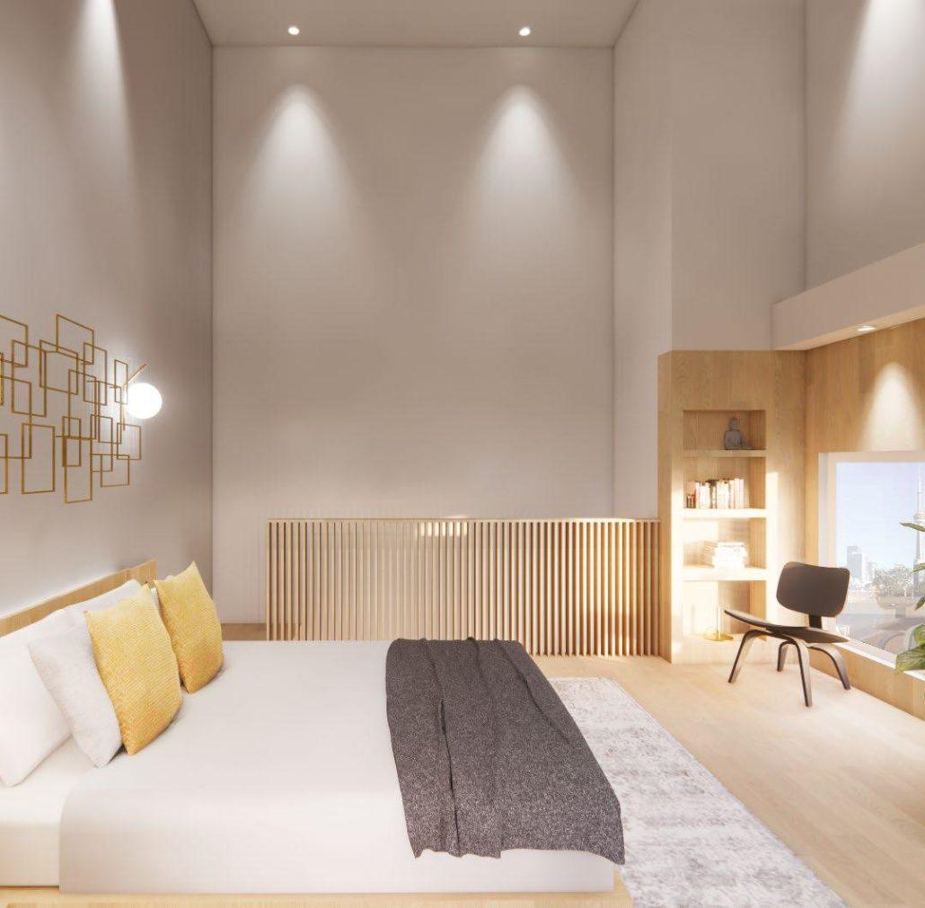 sanctuary lofts bedroom