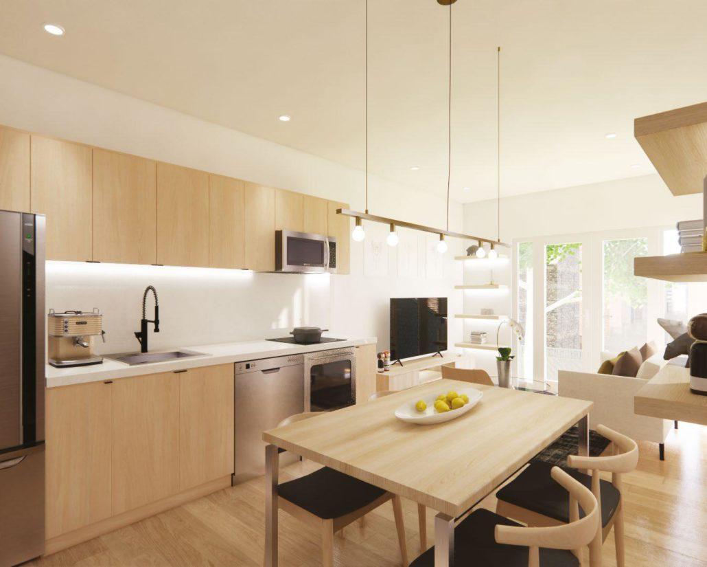sanctuary lofts kitchen