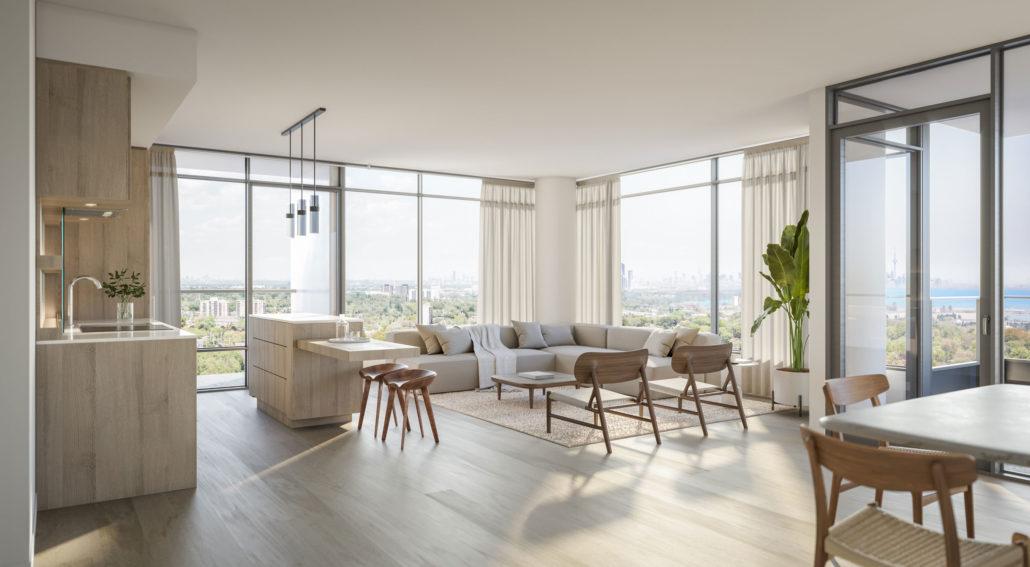 westport condos living room