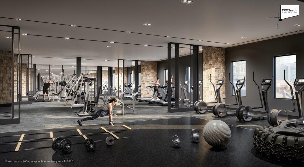 199 Church Condos Fitness Centre