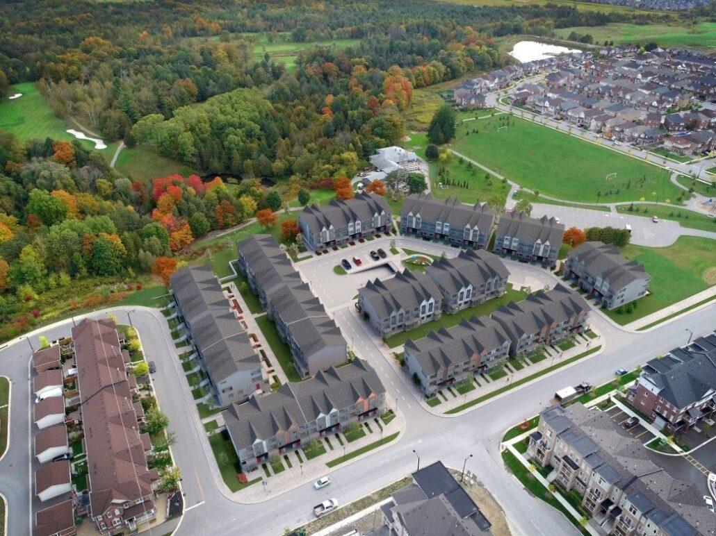 Maxx Urban Towns Aerial View