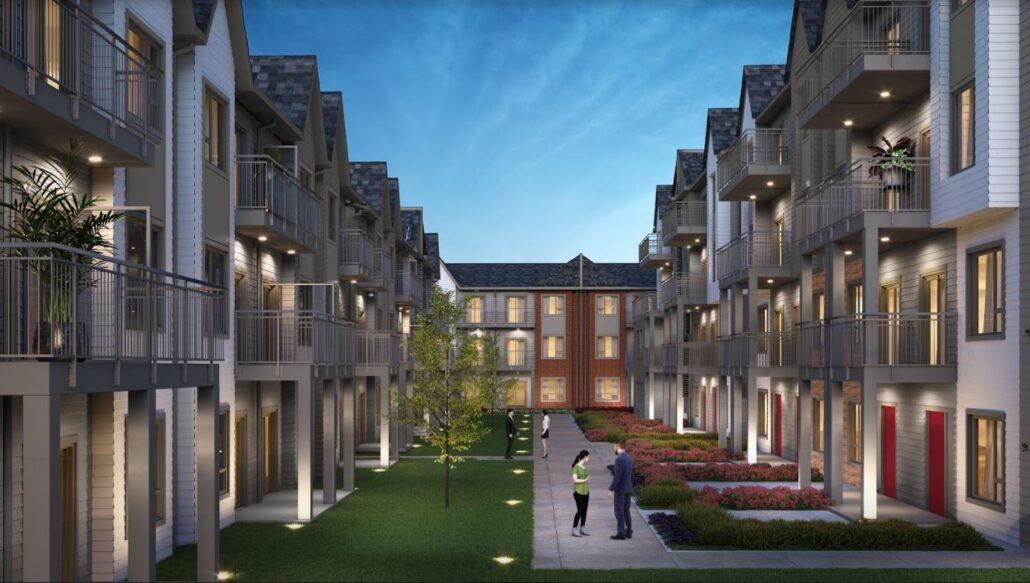 Maxx Urban Towns Courtyard Extension