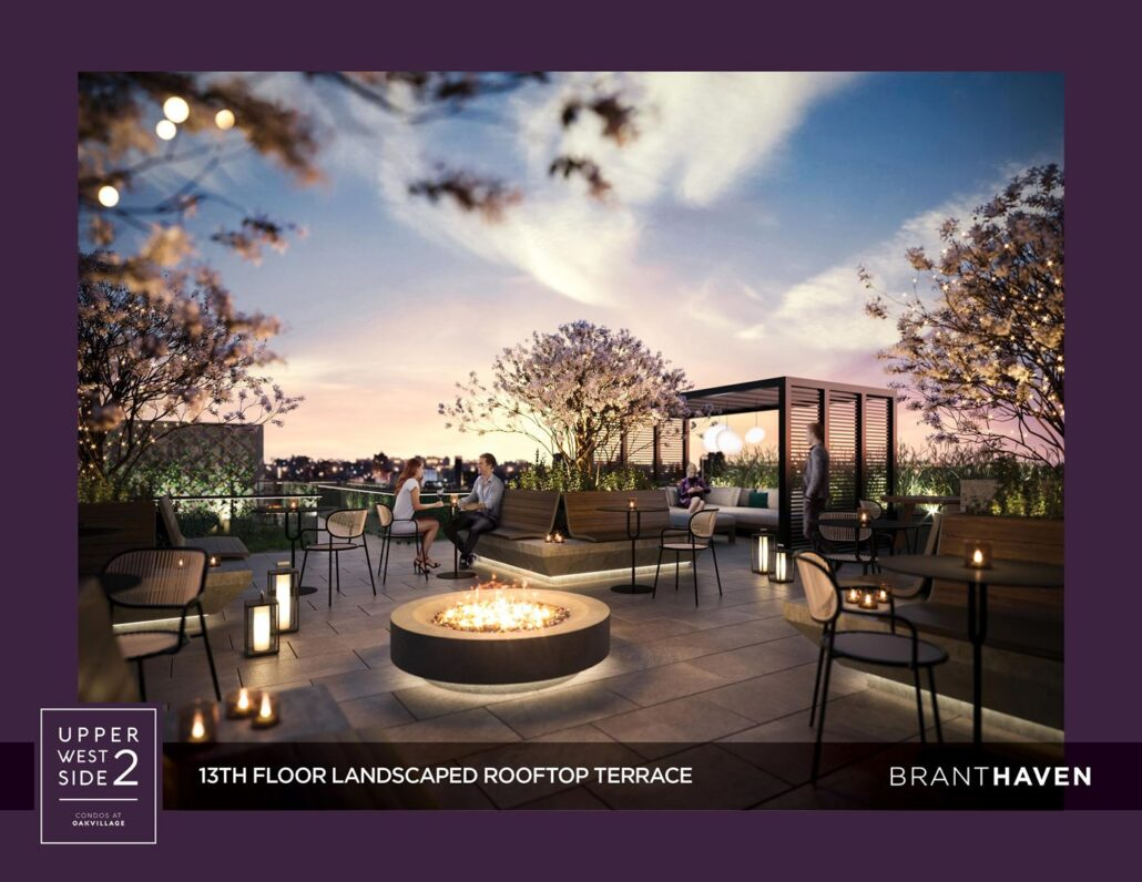 Upper West Side Condos 2 Rooftop Terrace