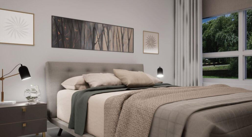 Claireville Urban Towns Bedroom