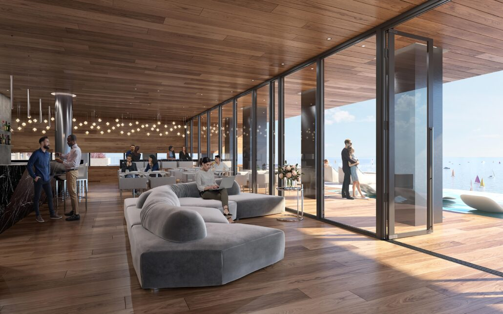 Debut Waterfront Residences Rendering