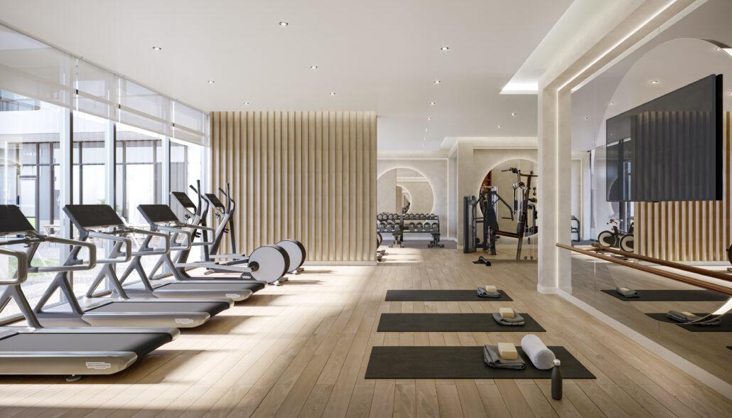 8188 Yonge Indoor Amenity Fitness Studio