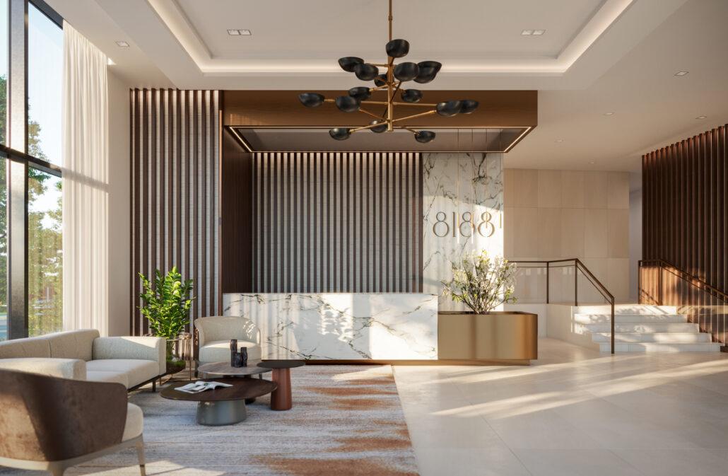 8188 Yonge Indoor Amenity Lobby