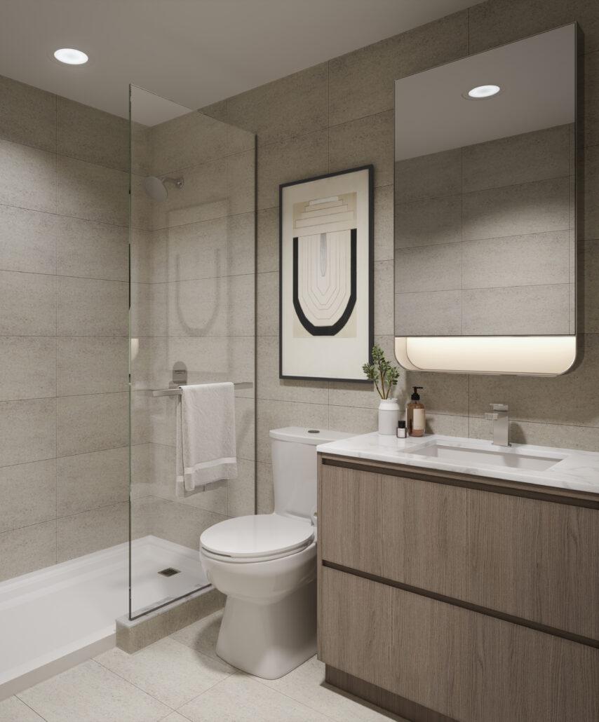 8188 Yonge Interior Suite Bathroom