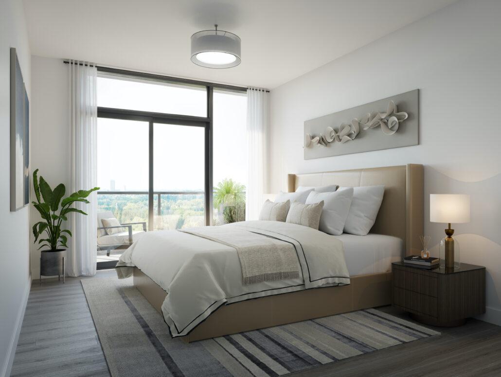 8188 Yonge Interior Suite Bedroom