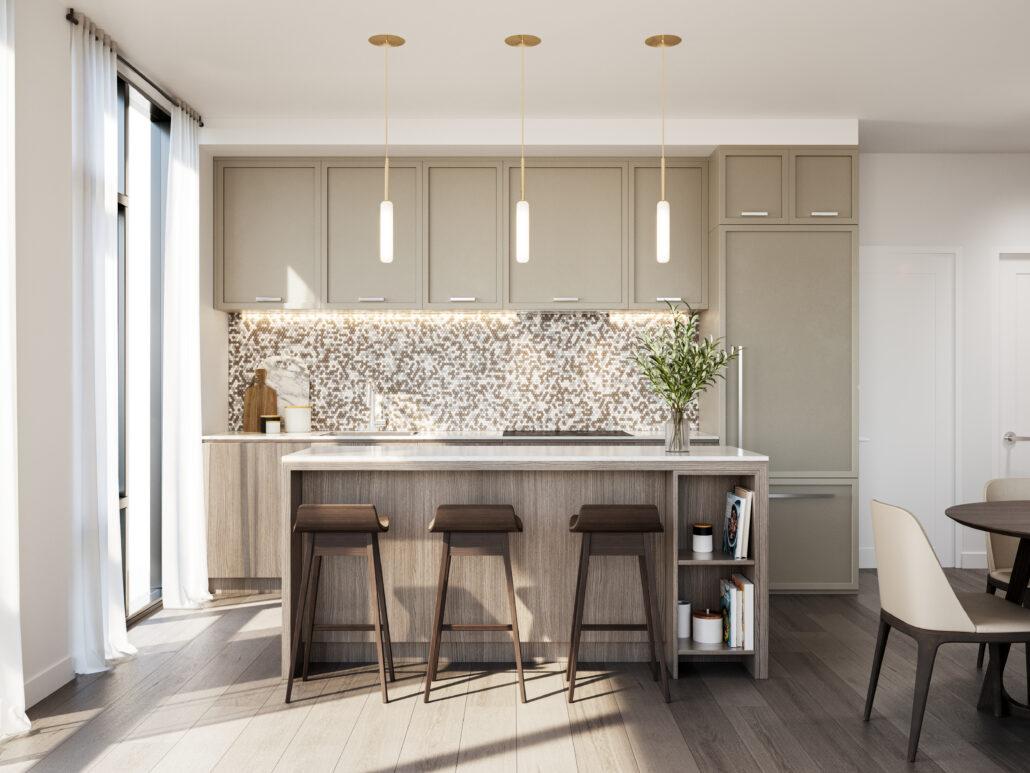 8188 Yonge Interior Suite Kitchen
