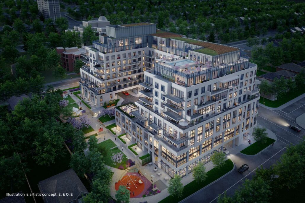 Glen Hill Condos Rendering
