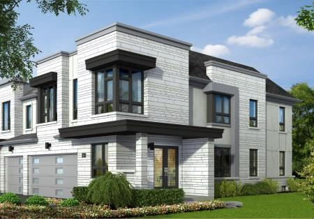 Lake Breeze Townhomes Rendering
