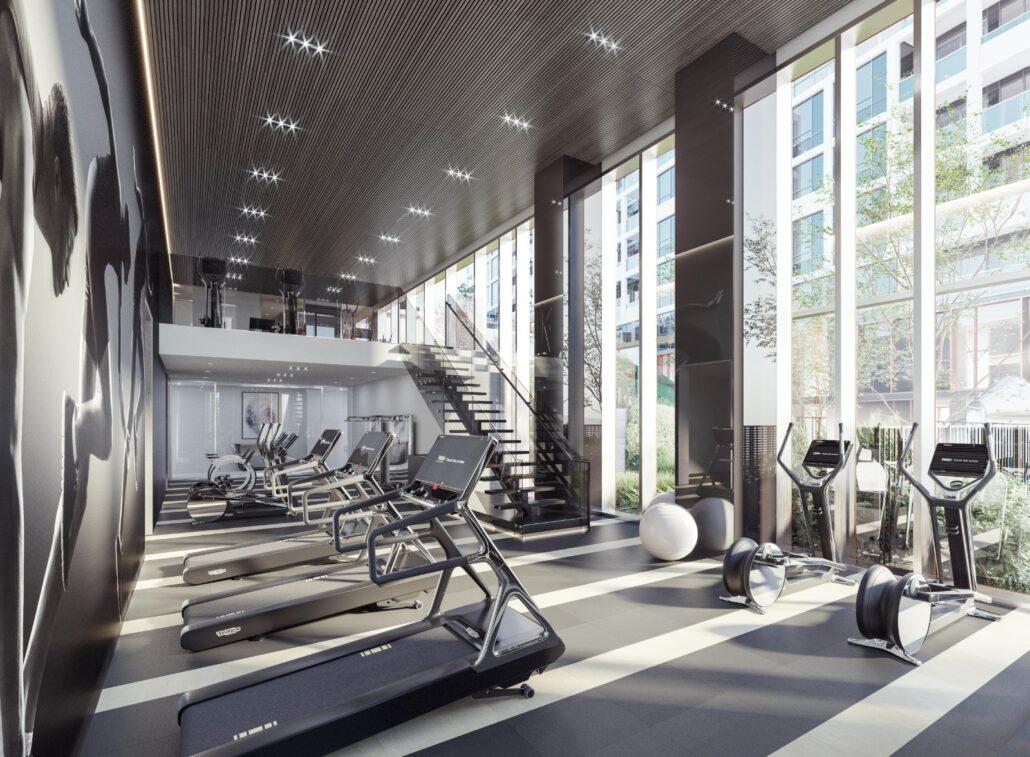 MRKT Alexandra Park Condos Gym
