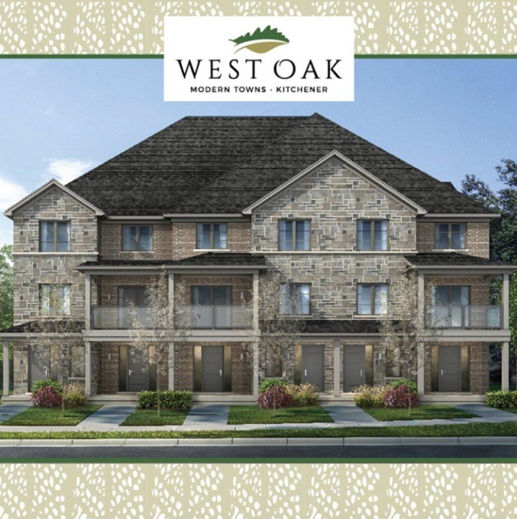 West Oak Urban Towns Rendering
