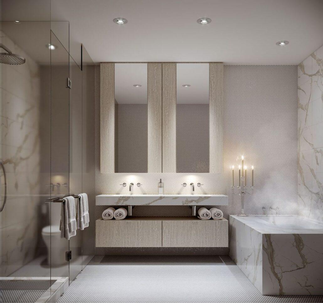 11YV Condos Bathroom