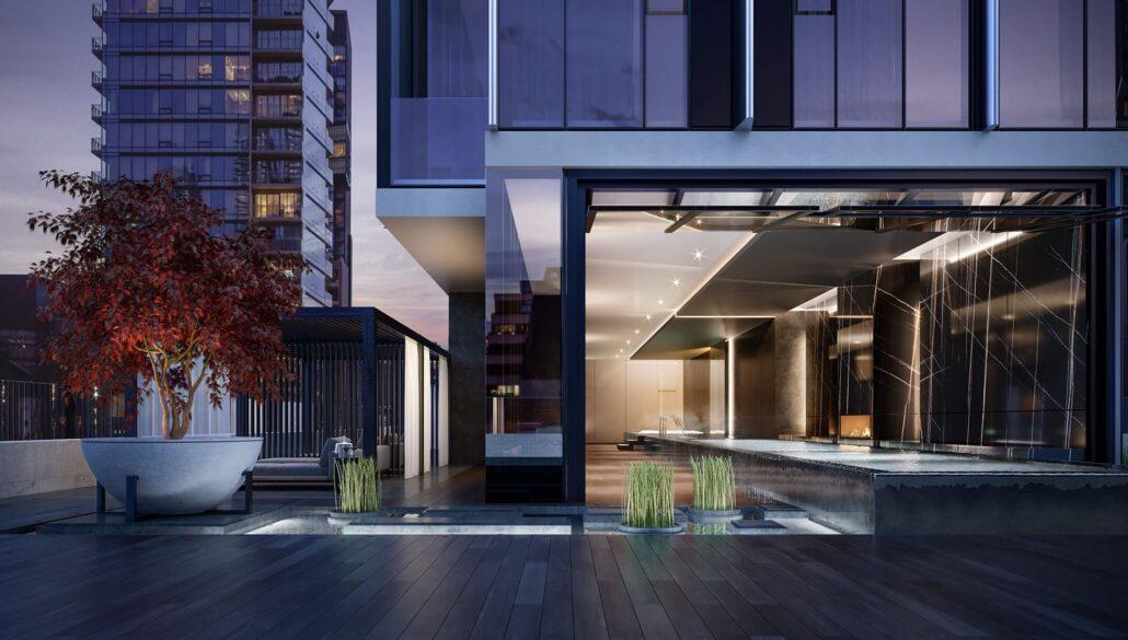 11YV Condos Outdoor Terrace