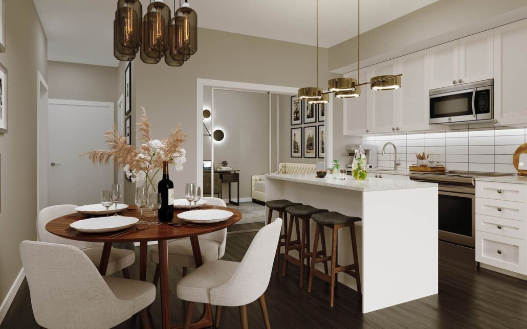 50 Ann Condos Kitchen Dining