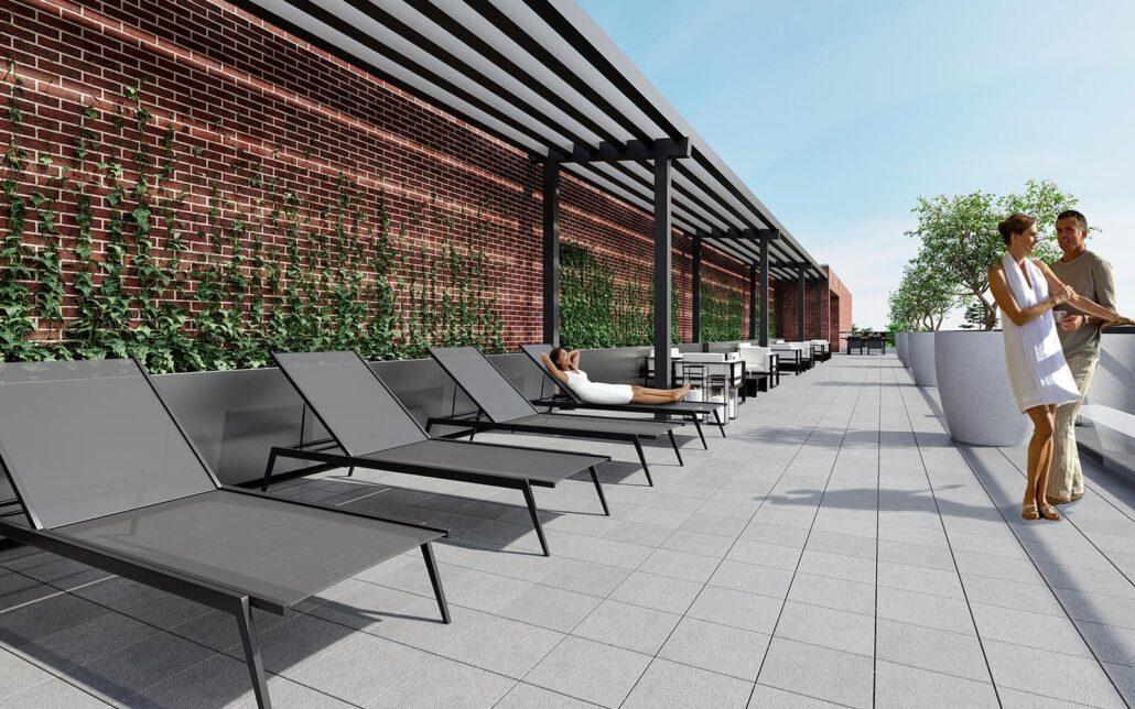 50 Ann Condos Rooftop Terrace