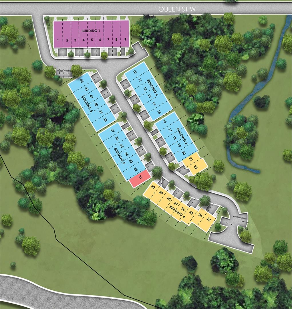 Copper Trail Creek Site Plan