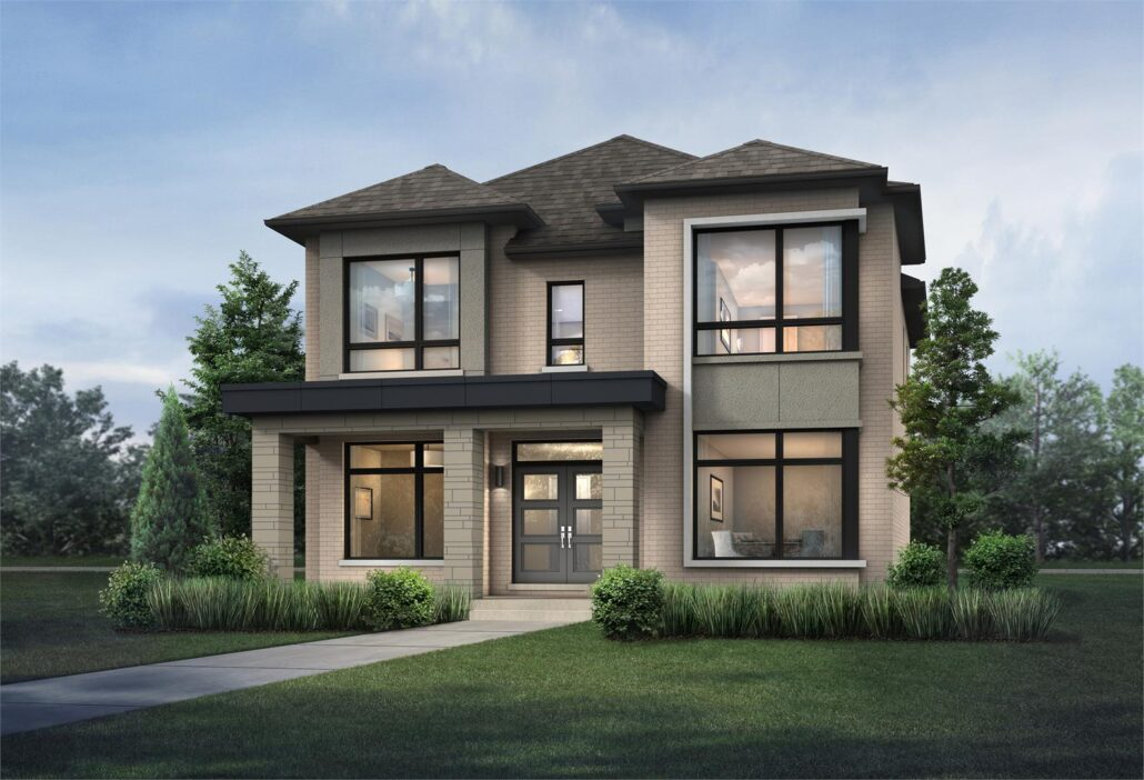 Cornell Rouge Phase 7 Exterior Rendering