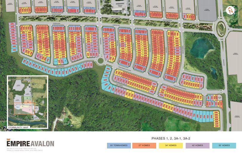 Empire Avalon Floor Plans Prices Availability Talkcondo