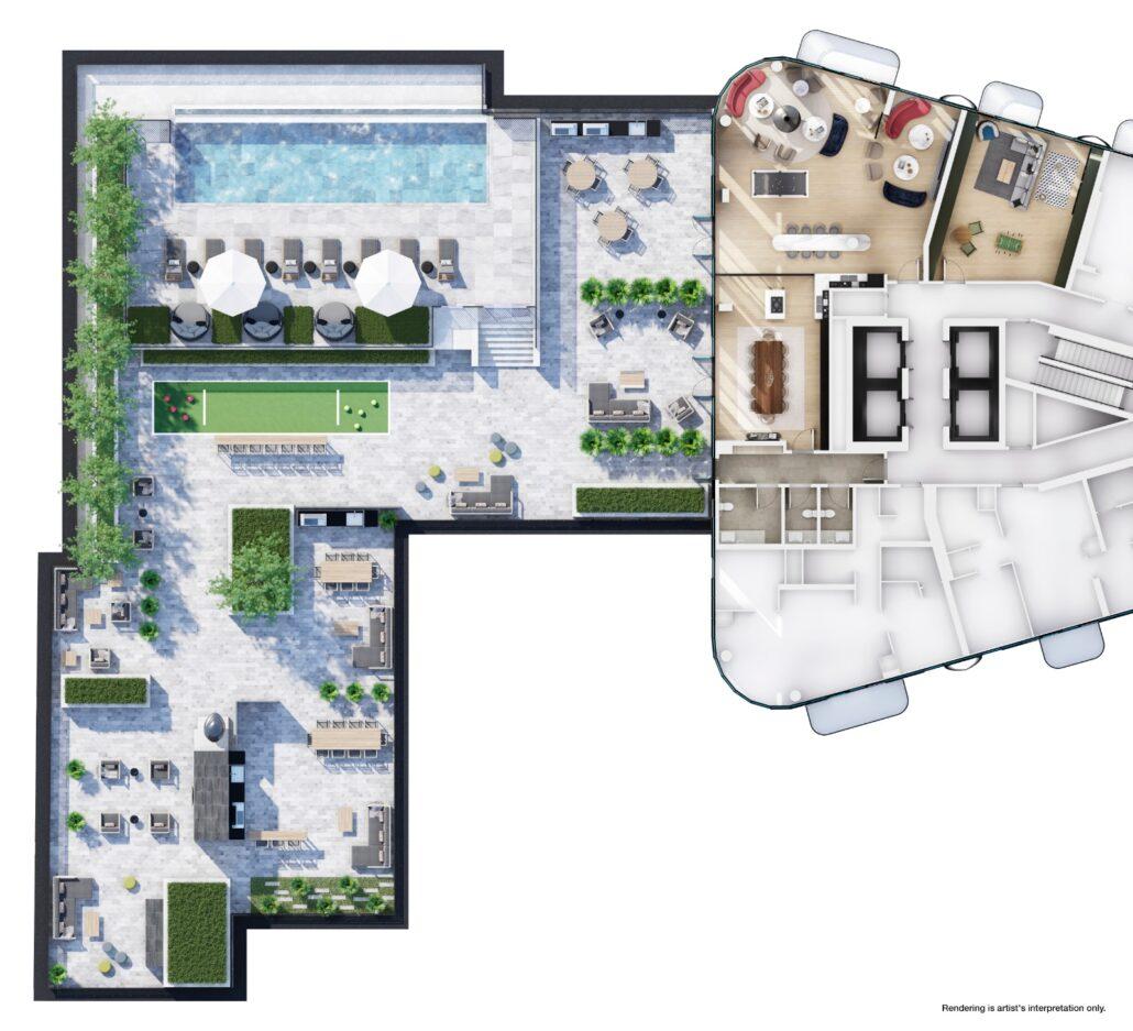 Galleria 03 Condos Site Plan