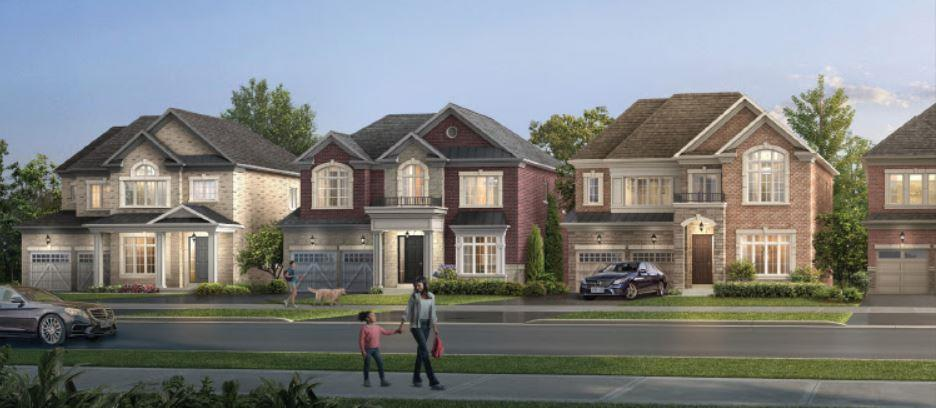 Glen Ashton Estates Streetscape Rendering