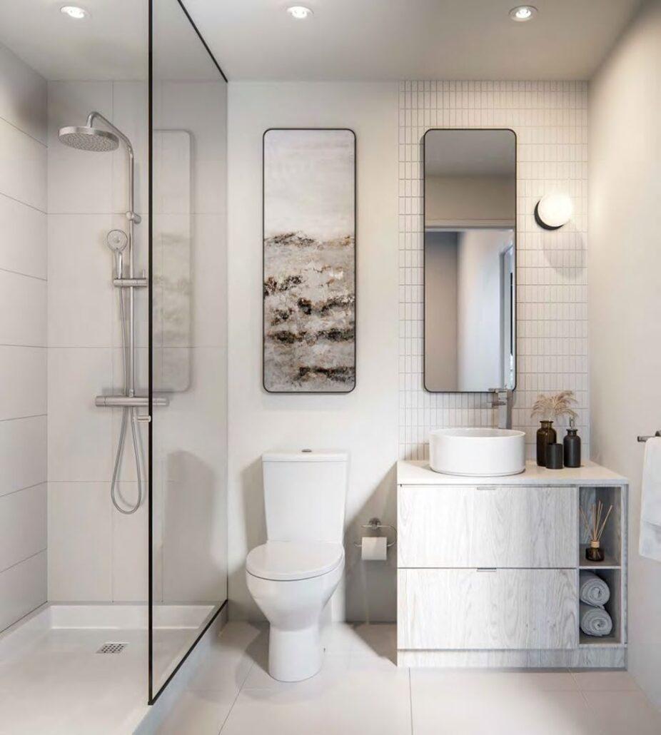 Perch Condos Bathroom