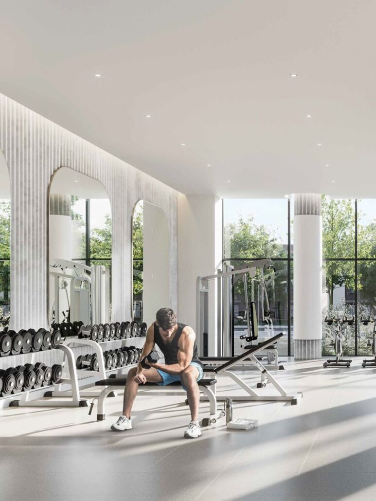Perch Condos Gym
