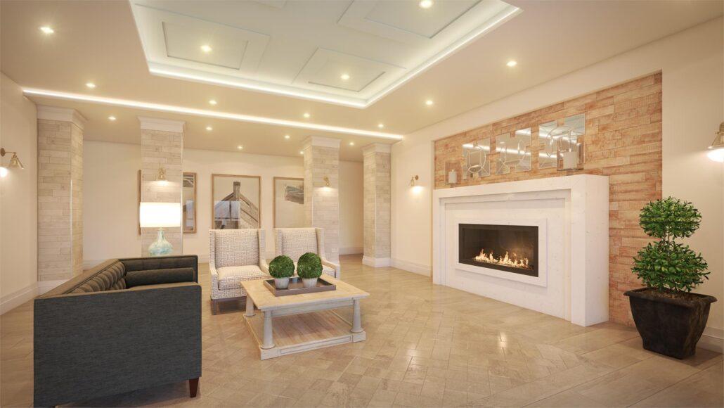 Stone & South Condos Lobby