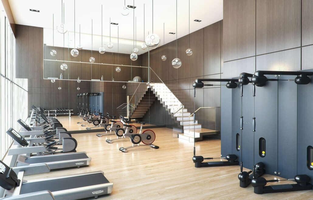 The Lakefront Condos Fitness Facility